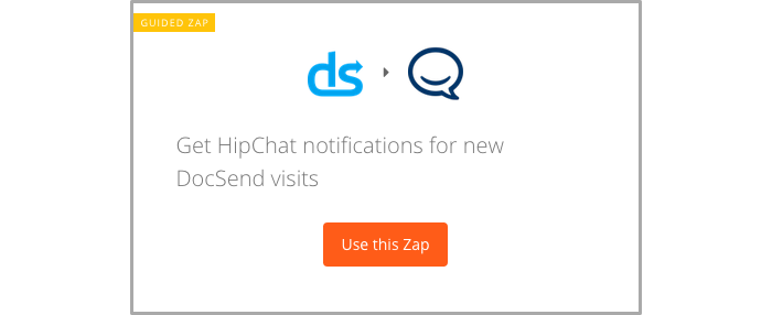 Get notifications in HipChat when you get a new DocSend visit