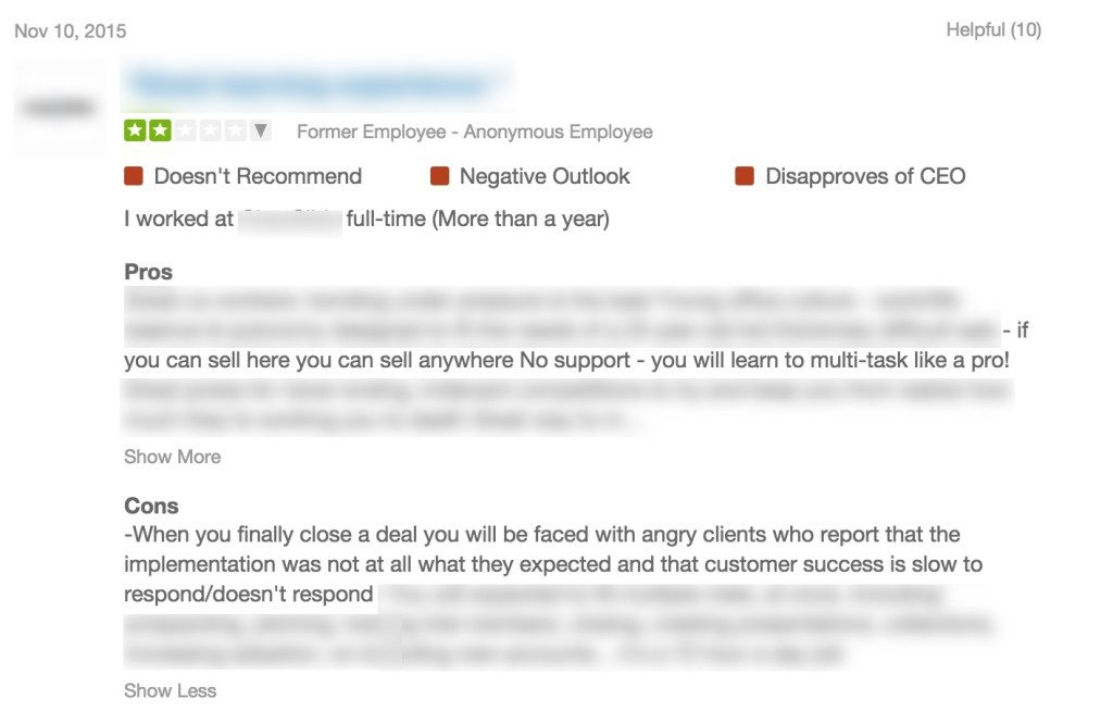 customer success does not respond