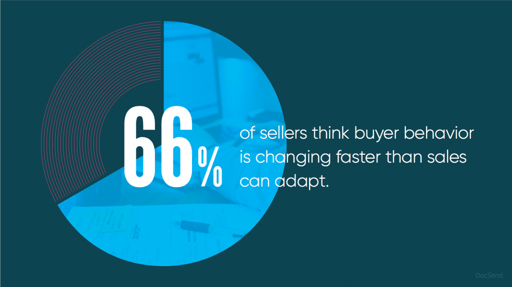 changing buyer behavior - product story